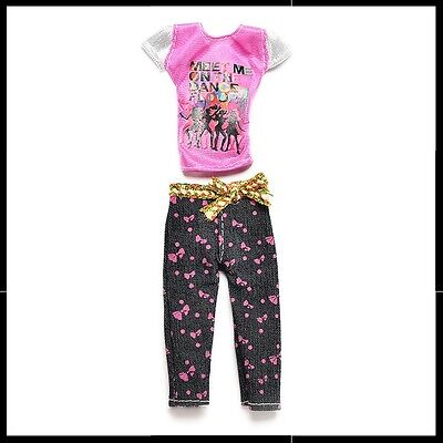 "Barbie Doll Clothes - 2 piece casual outfit ""Meet Me on The Dance Floor""."