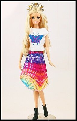Barbie Doll Clothes - Casual Two Piece Set.