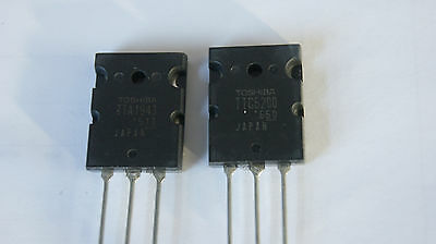 TTA1943 TTC5200 (A1943 C5200) TOSHIBA transistor TO-3LP Audio amplifier PAIR