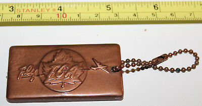 Trans-Canada Air Lines Airline TCA Plastic Copper Identification Luggage Tag