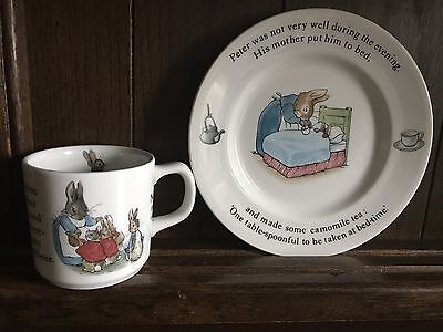 Peter Rabbit Cup And Plate Set- Wedgewood