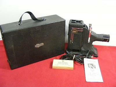 Vtg Miniature Slide Projector Model AK - Very Nice Working Condition