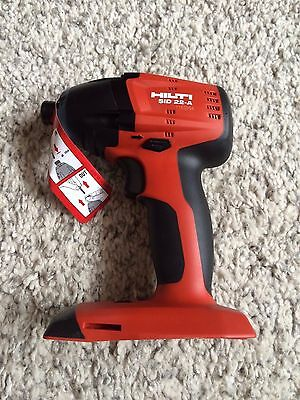 HILTI SID 22-A Cordless impact drill / driver, 2 years warranty