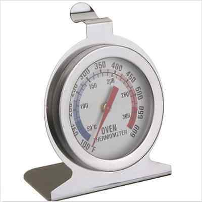 STAINLESS STEEL OVEN COOKER THERMOMETER TEMPRATURE OGGGE 600c STANDING STAND WL