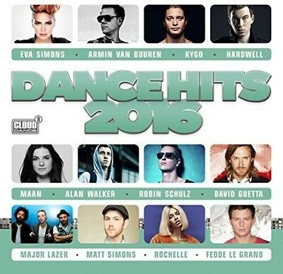 Various Artists - Dance Hits 2016 CD NEW