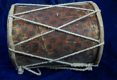 antique styal Handmade Damroo for Kids Indian Musical Instrument tabla