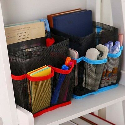 Hanging Toiletry Storage Pouch Organizer Caddy Cosmetics Shower Bag Mesh TotePOP
