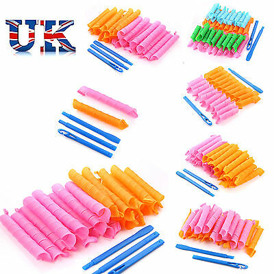 Magic Hair Curlers Styling Curlformers Spiral Ringlet Hairband Tool 20/40 pcs