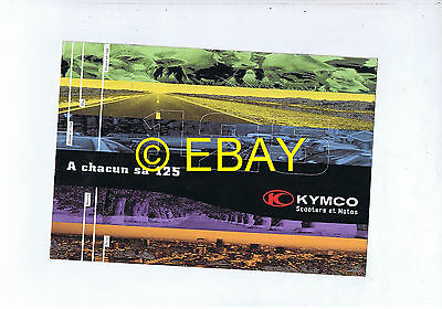 Catalogue Kymco 125 (France)