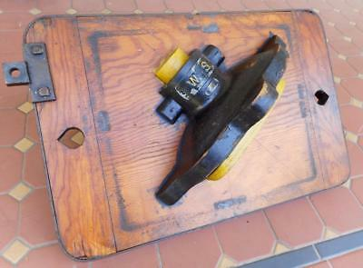 Vintage Genuine South Aus Railways Foundry Mould Timber Block Great Condition #2