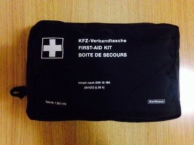 Genuine Unused BMW First Aid Kit Car Road Safety Equipment Parts Accessory
