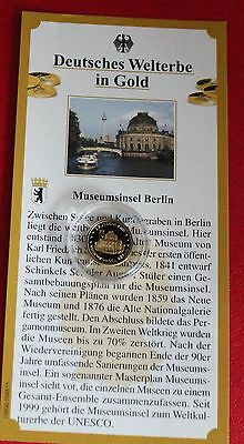 Medaille Museumsinsel Berlin 585 Gold PP