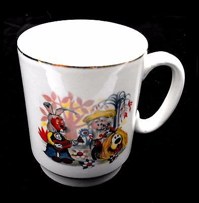 Vintage MAGIC ROUNDABOUT CHINA MUG Serge Danot BBC '67 Dillon Dougal  Mr McHenry