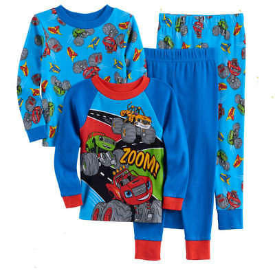 Blaze And The Monster Machine Pajamas Size 2T 3T 4T New!