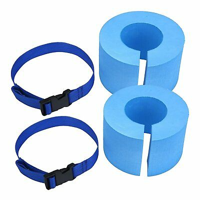 2Pcs Swim Armbands Swimming Training Tool Floats Tube Armlets for Kids and Adult