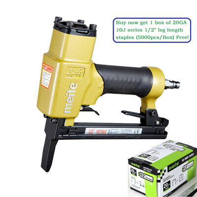 meite 1013JL 20GA 7/16'' crown Power Upholstery Stapler Long Nose stapler gun