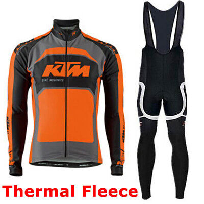 Completo Invernale/Cycling Jersey and pants Team KTM Thermal Winter 2016