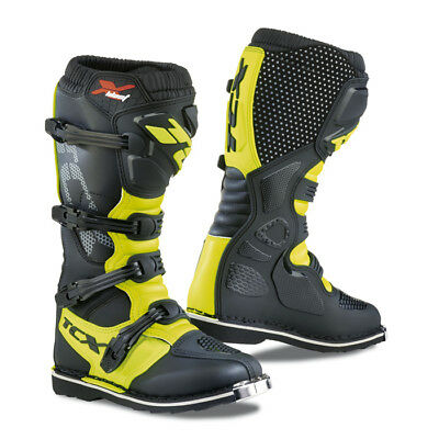 Stivale Off Road Tcx X Blast Black/yellow Fluo