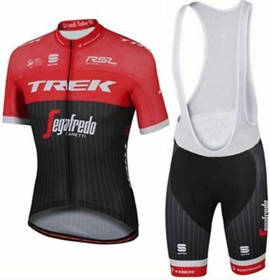 Completo ciclismo/Cycling Jersey and pants Team TREk Red