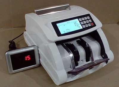 """AUSCOUNT MONEY COUNTING MACHINE - AUS5700R  w""""  VALUE FUNCTION + RECHARGEABLE"""