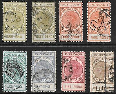 South Australia    Long Stamps Up To 1/-    State Stamps   Unsorted & Unchecked