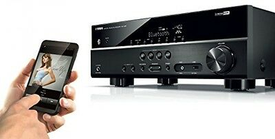 Yamaha Channel Network AV-Receiver Amplifier HDR Bluetooth MusicCast Black New