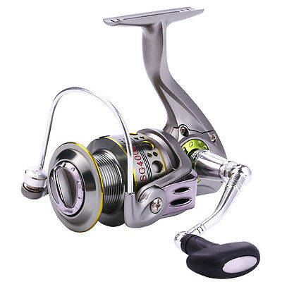 Saltwater Freshwater Fishing Reel Spinning Left/right Fishing Reels Green Color