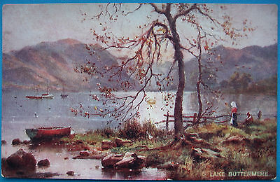 "LAKE BUTTERMERE ~ Tuck ""Oillette, Picturesque English Lakes"""