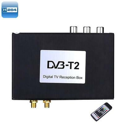 Car Digital TV Receiver Box - Wide Frequency Range, Two Way Video, 1080p