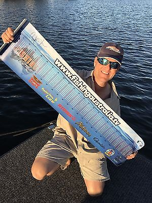 Best Gift Ever! A Signed Fishing Australia Brag Mat Limited Addition