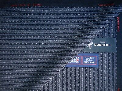 DORMEUIL 100% WOOL WORSTED MORNING SUIT TROUSERS FABRIC– MADE IN ENGLAND- 1.7 m.