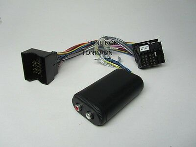 Peugeot Quadlock Remote High Low Adapter 2 Chinch Radio Ausgang Verstärker