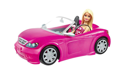 Barbie Convertible Car & Doll Playset 3-8 Years Rare Car Scene Present Gift Kids