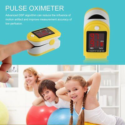 C201J1 heart rate Finger Pulse Oximeter with Pulse Curve Display for Home Use UK