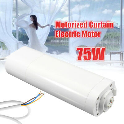DIY Motorized Curtain Electric Motor 75w 220v 112r/min 50Hz Smart Home Sensor