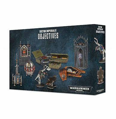 Warhammer 40.000 Sector Imperialis Objectives Marker Gelände Games Workshop 40k