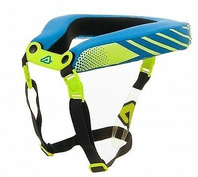 Acerbis Adult Neck Collar Nut Neck Stabilizing Support Collar Flo Yellow Blue