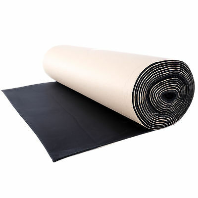10m x 1m Roll Car Van Insulation Sound Proofing Liner Closed Cell Foam 6mm