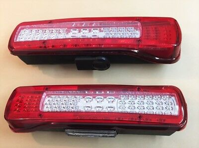 2x LED Rear tail 24V lights for VOLVO FM FH version IV Euro 6 aftermarket lamps