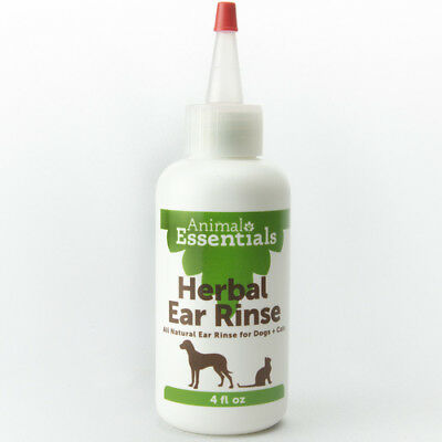 Animal Essential Apawthecary HERBAL EAR RINSE Cleanser For Dogs 4 oz