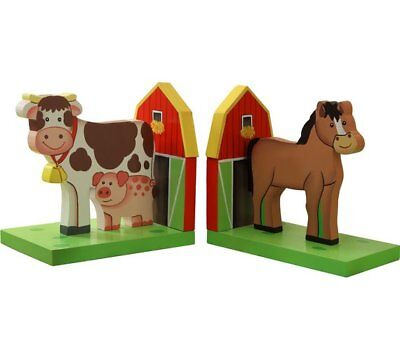 New Fantasy Fields Happy Farm bookends set of 2 christmas gifts for kids boxed