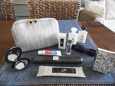 EMIRATES Business Class Ladies' BVLGARI Amenity Kit Trousse Neceser Kulturbeutel