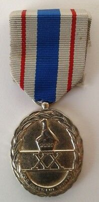 Zimbabwe Public Service Long and Exemplary Service, Display Medal/Copy #CIL