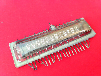 IVL1-8/12 ИВЛ1-8/12 VFD digit clock display rare tube vintage RARE SAME DATE NOS