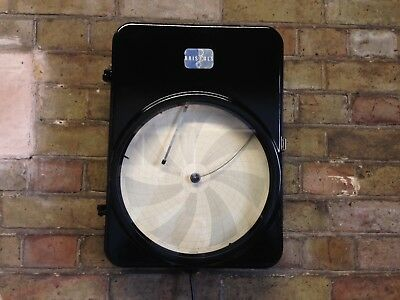 Industrial Chart Recorder Wall light Feature Steampunk