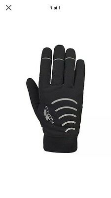 Trespass Crossover Unisex Crossover Glove - Black, Medium/Large