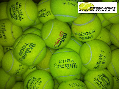 100 used premium brand tennis balls. Perfect for dogs, crafts, sports groups