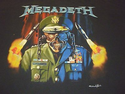 Megadeth 2005 Shirt ( Used Size XL ) Good Condition!!!