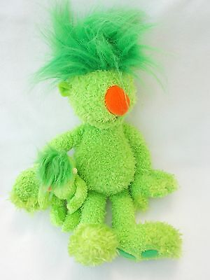 The Hoobs Green Groove Hoob Soft Plush Cuddly Toy Teddy Small and Talking