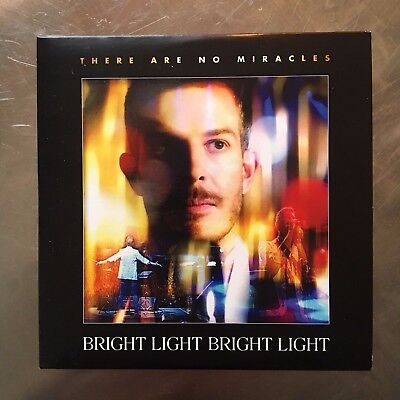 SIGNED Bright Light Bright Light 'There Are No Miracles' CD EP